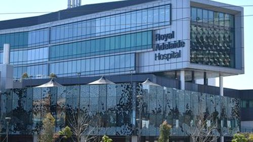 The spending issues include the Royal Adelaide Hospital.