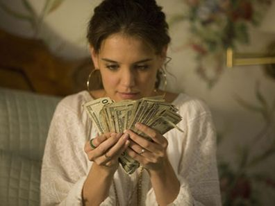 Katie Holmes in scene from Mad Money