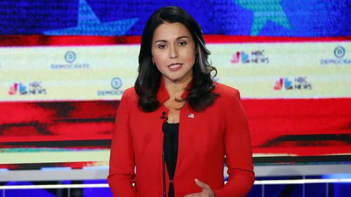 Tulsi Gabbard was the most Googled candidate during the debate.