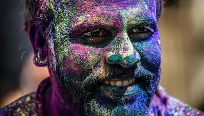 The Holi Festival is celebrated in many places including Mumbai, India