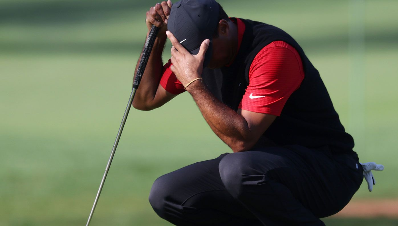 Humiliating Masters meltdown for Tiger Woods, shoots worst single hole score of his career