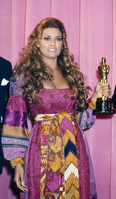 Raquel Welch at the 42nd Annual Academy Awards