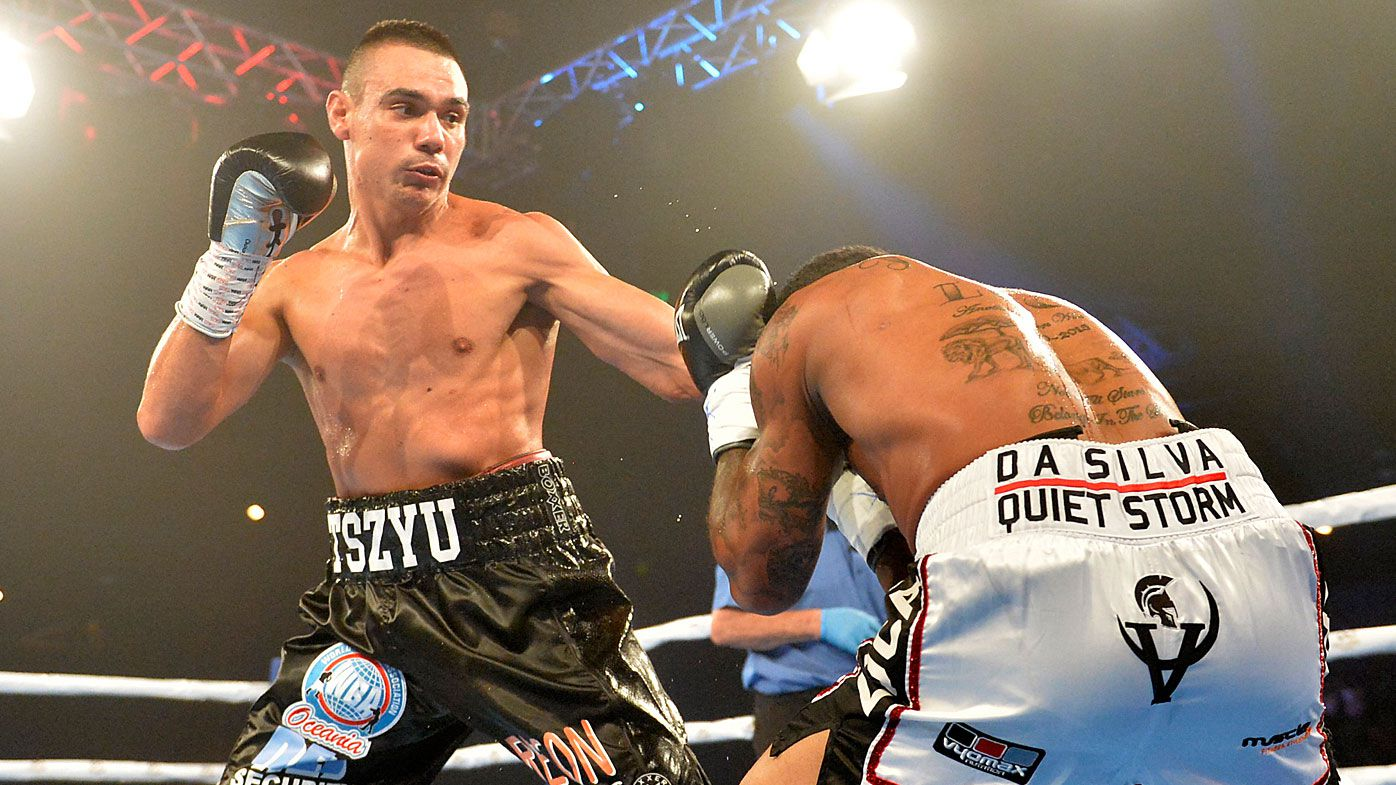 Tim Tszyu soundly defeats Brit Denton Vassell with TKO victory taking record to 12-0