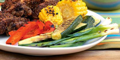 "Recipe:&nbsp;<a href=""http://kitchen.nine.com.au/2016/05/19/13/05/barbecued-vegetables"" target=""_top"">Barbecued vegetables</a>"
