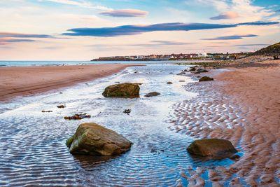 Whitley Bay beach in North Tyneside