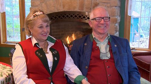 The school is run on behalf of Santa by husband and wife Tom and Holly. (9NEWS)