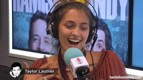 Paris Jackson pranks Taylor Lautner with fake Australian accent