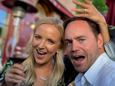 Nine News' Alexis Daish on the 'amazing' moment her partner asked her to marry him