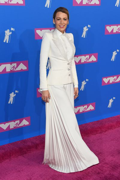 <p>Blake Lively at the&nbsp;MTV Video Music Awards in New York, August, 2018</p>