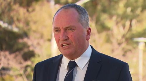 Barnaby Joyce, who initially demanded the policy guarantee lower power prices, today said he will work with Mr Turnbull on the plan.