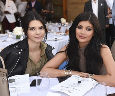 World famous sisters who are also the best of friend - Kendall and Kylie Jenner.