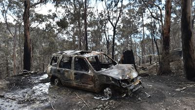 No one died in the fires, but three firefighters suffered minor injuries. (AAP)