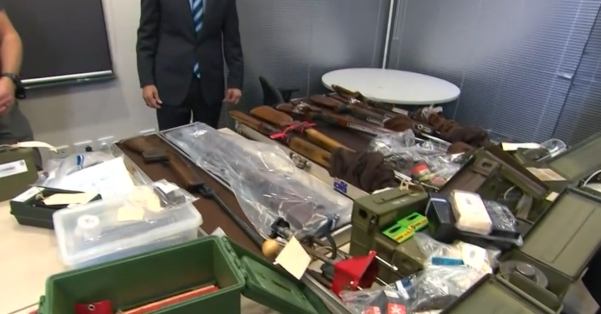 Perth 'doomsday prepper' charged with multiple weapons offences building WWII submachine gun – 9News