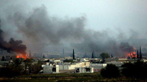 Dozen airstrikes in two days leave ISIL reeling