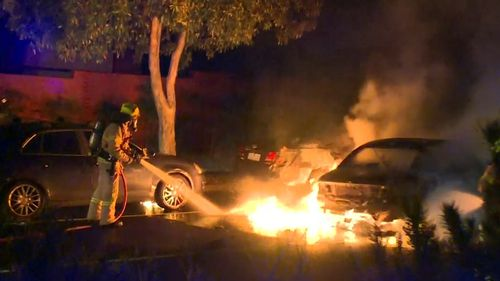 Residents in the area say the first thing the man did when he exited the car was to light a cigarette.
