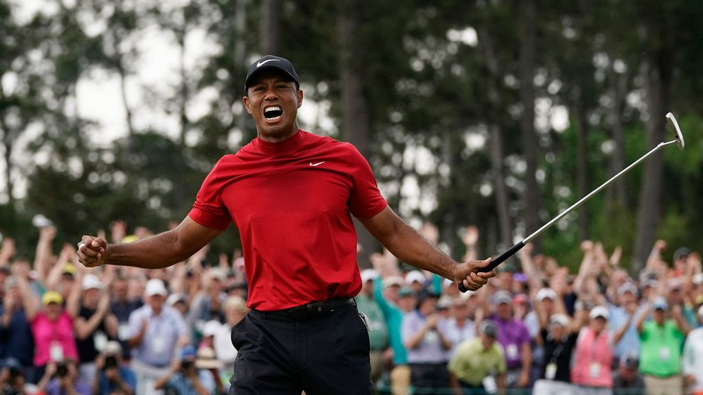 d6441eba Masters 2019: Tiger Woods claims 5th US Masters title