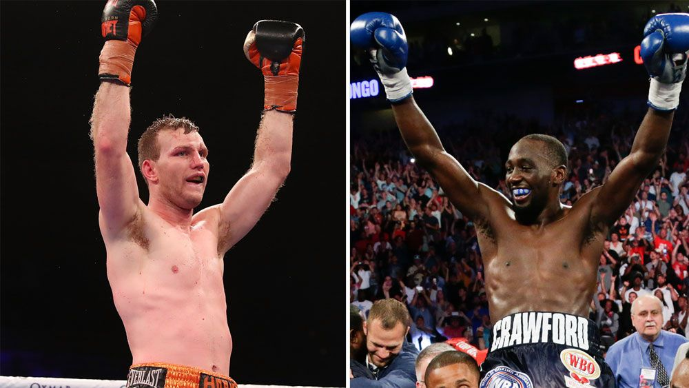 Australian boxing champion Jeff Horn can beat Terence Crawford, says promoter Bob Arum