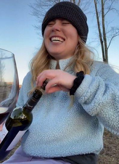 Woman explains wine glass photo fail TikTok