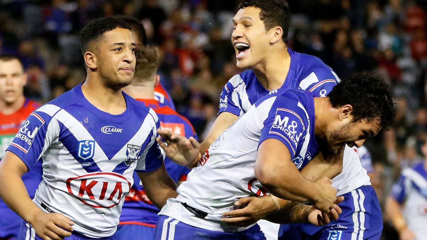 NRL: Canterbury Bulldogs upset Newcastle Knights as bunker confusion headlines