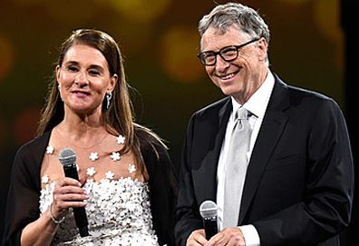 Melinda and Bill Gates (Getty)