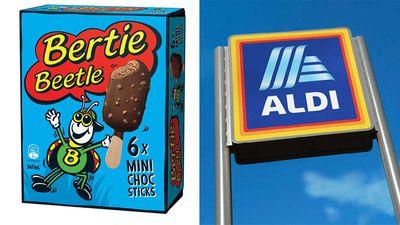 Shopper frenzy over return of Bertie Beetle ice-cream in Aldi