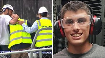 A family is mourning after 18-year-old Christopher Cassaniti died at a Macquarie Park construction site this afternoon.