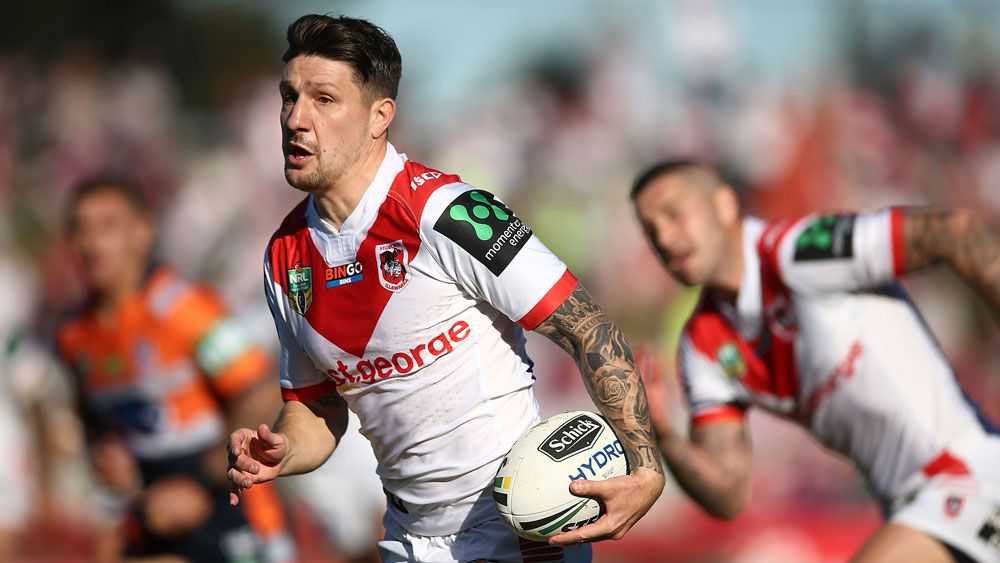 St George Illawarra Dragons booed by own fans in win over Newcastle Knights at Kogarah Oval