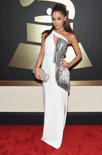 Ariana Grande at the 57th Annual GRAMMY Awards in Los Angeles, February, 2015