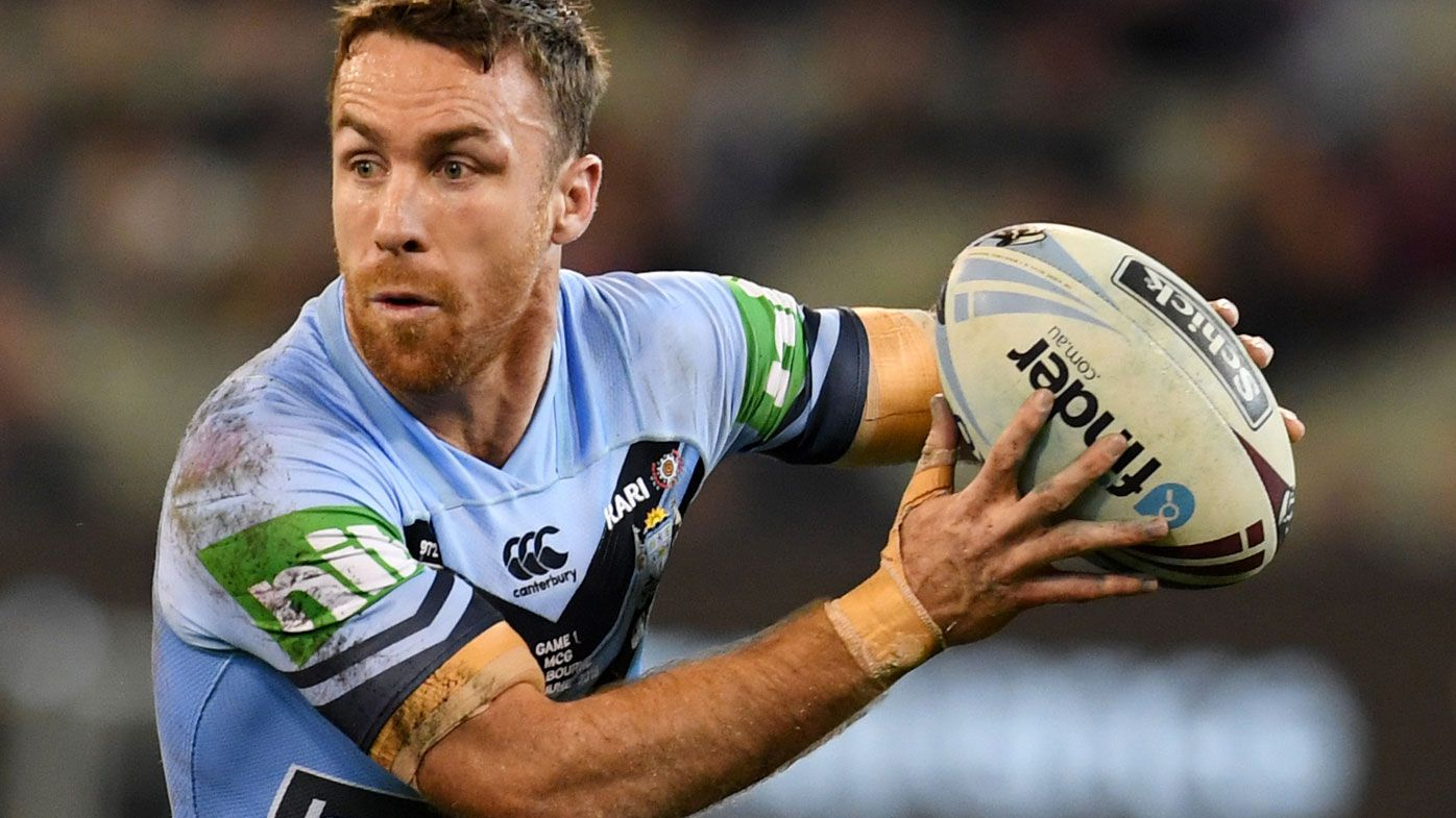 100% Footy: NSW Blues half James Maloney confirms he's fit for State of Origin 2