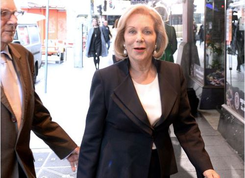 Long time friend, Ita Buttrose attended the memorial of Harry M Miller. Image: AAP