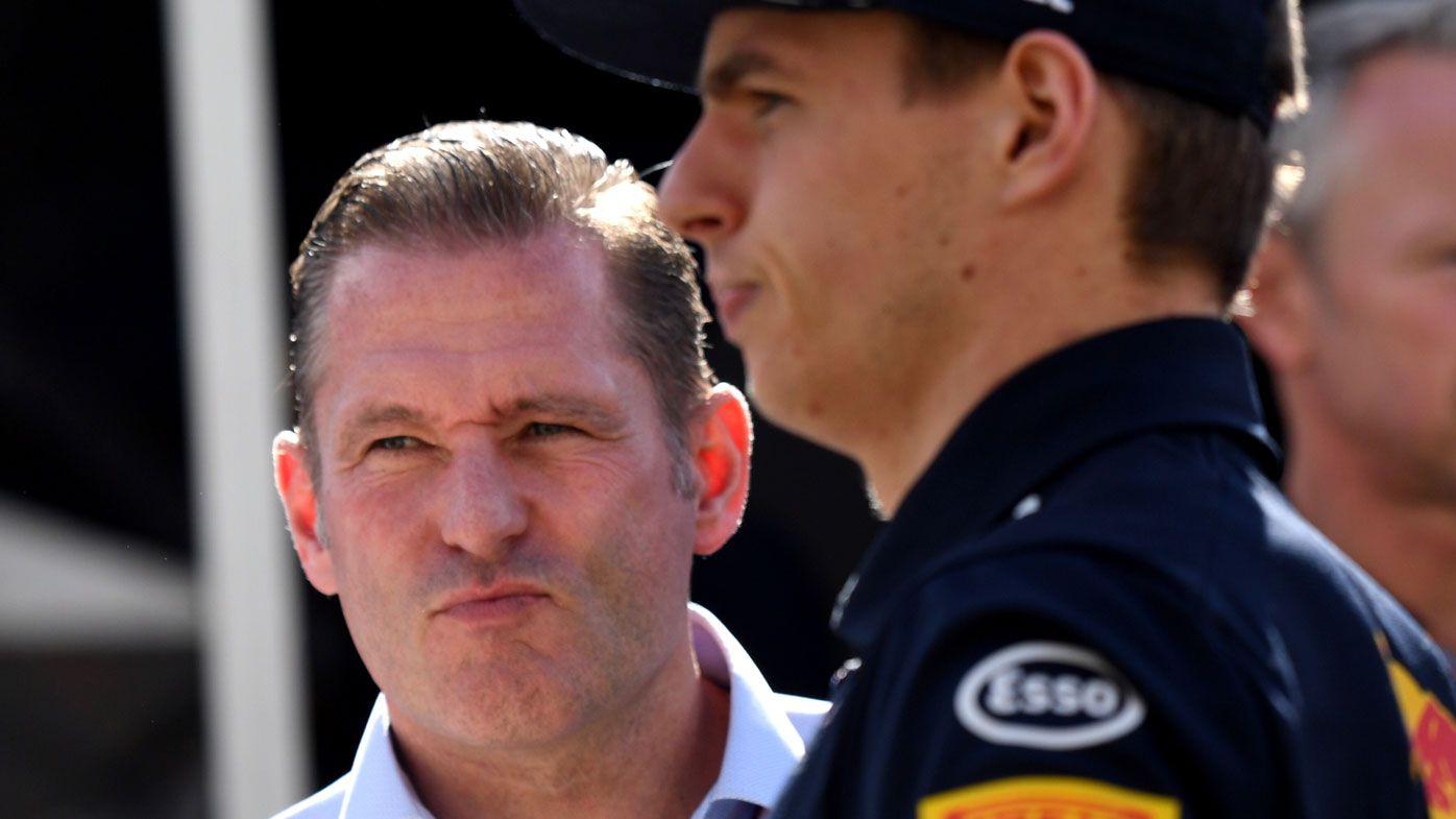 Jos Verstappen had backmarker crash with leader Juan Pablo Montoya at Interlagos