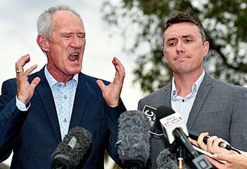 Steve Dickson and James Ashby (AAP)