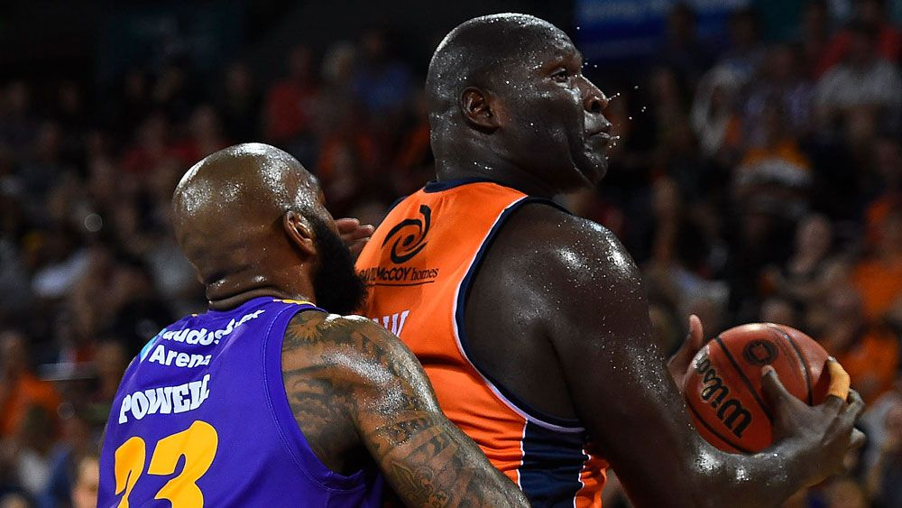 Nathan Jawai and the Taipans were too good for Sydney. (Getty Images)