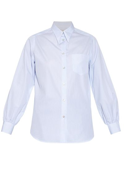 "<p>The quality and tailoring of this wear-with-everything shirt warrants it a place in your <a href=""http://honey.ninemsn.com.au/2015/08/24/12/44/classic-blue-shirts"" target=""_blank"">blue collar collection</a>.</p>"