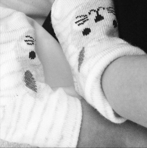 Sonia Kruger announced the birth of baby Maggie with this shot on Instagram. (Instagram)
