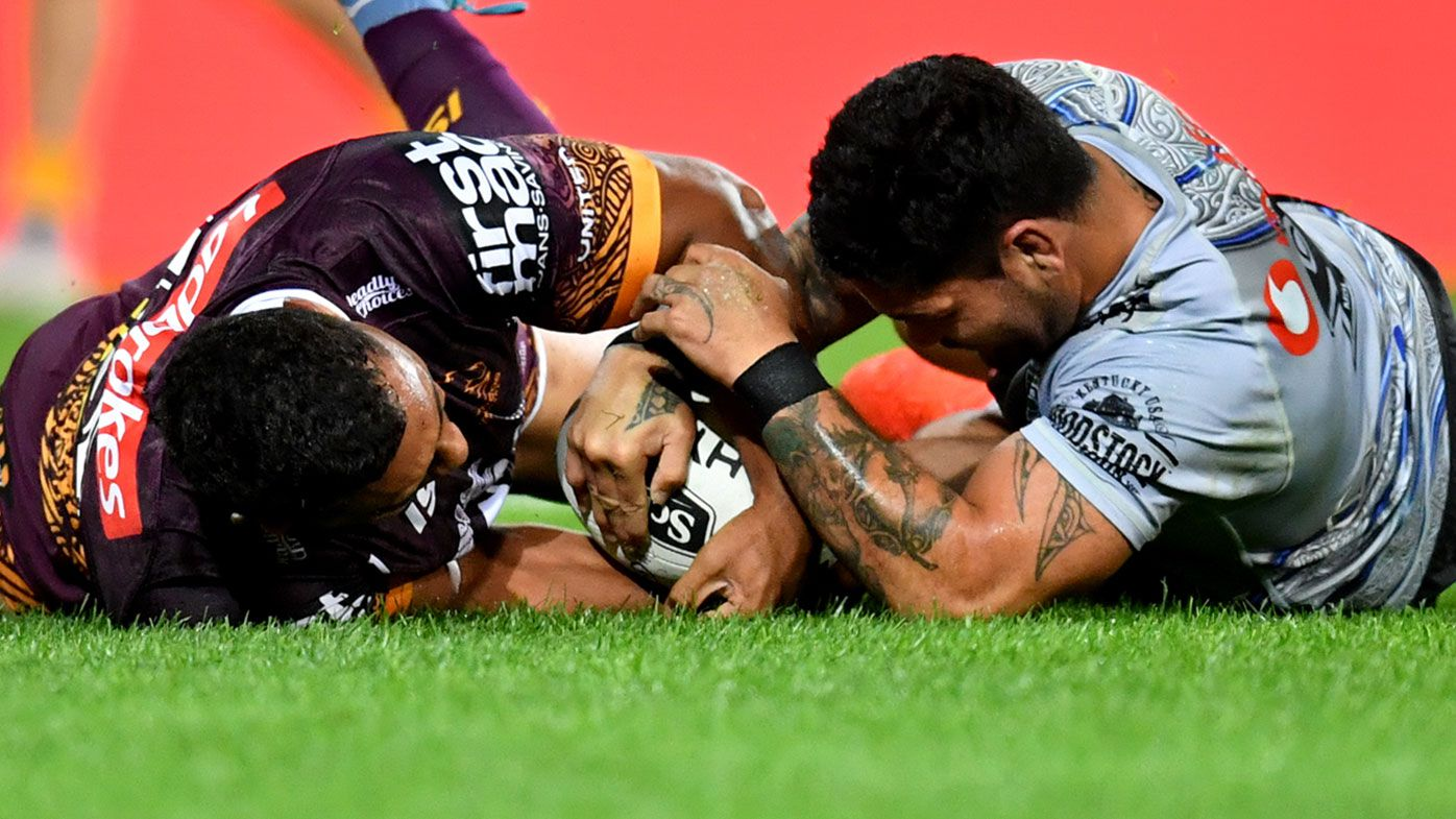 NRL: Broncos and Warriors forced to split the points in chaotic draw
