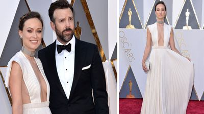 Olivia Wilde and Jason Sudeikis. (AP)