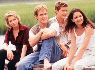 Holmes teased the possibility of a Dawson's Creek reboot.