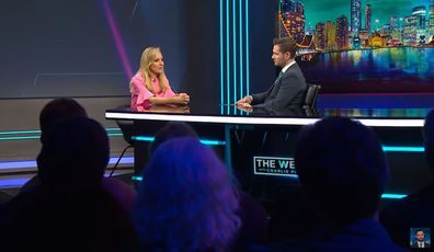 Carrie Bickmore on The Weekly With Charlie Pickering