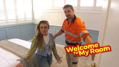 Welcome To My Room: Kirsty and Jesse show off the archway in their Guest Bedroom