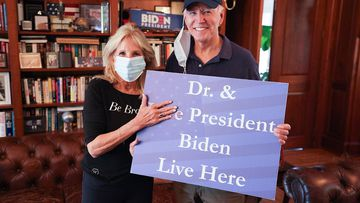 First pics of Biden since election victory