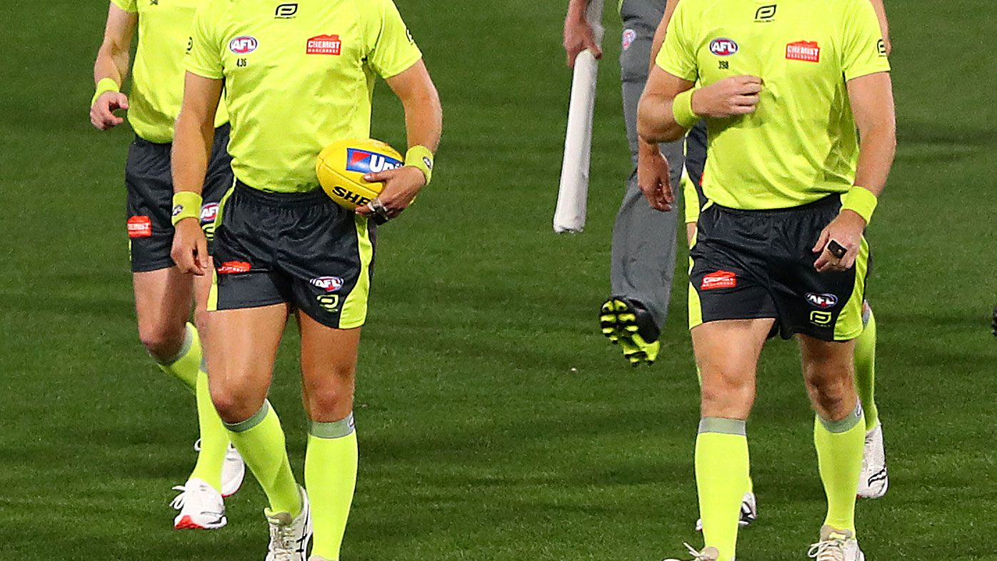 Victoria Police make arrest over alleged AFL umpire harassment