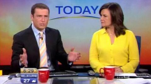 Video: More news presenter shenanigans