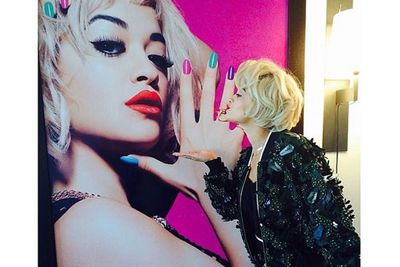 @ritaora: What day is it today? @rimmellondonuk DAY #ohHi LOL