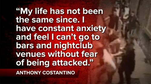 Anthony Constantino's victim impact statement. (9NEWS)