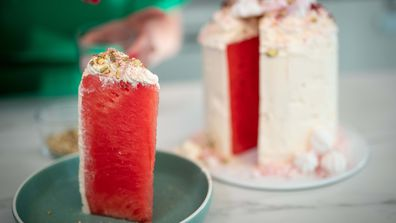 The show-stopping watermelon cake illusion