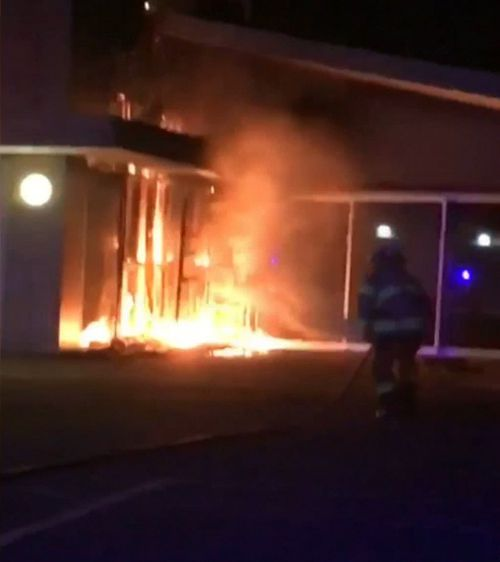 A school in Adelaide's eastern suburbs was gutted by an arson attack overnight.