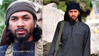 Terrorist fathers 'three children' who could become Aussies