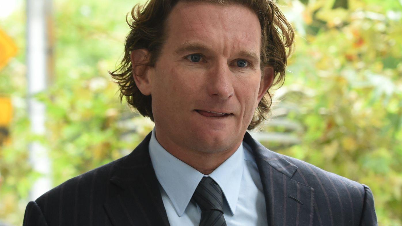 Former Essendon coach James Hird