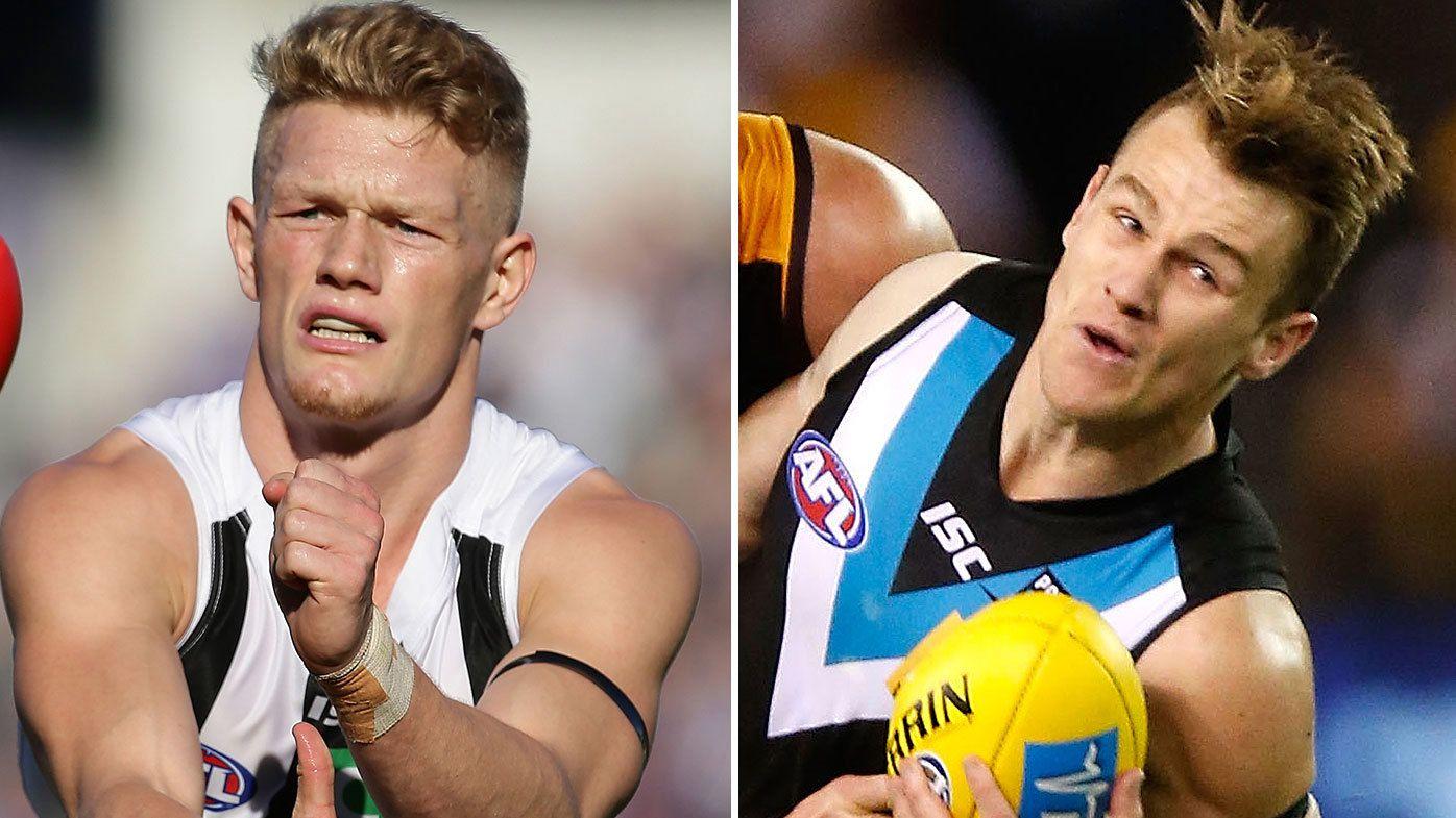 Collingwood's Adam Treloar, Power's Robbie Gray dealt injury setbacks